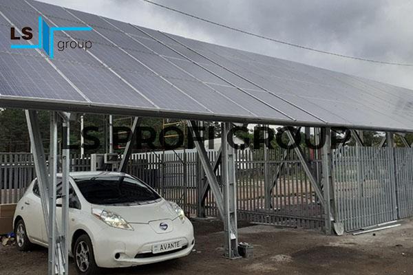 LS Group. Каркас для солнечных панелей, Украина