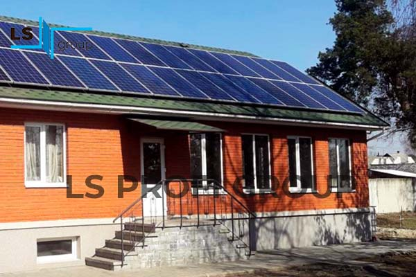 Металлоконструкции для солнечных батарей, Украина