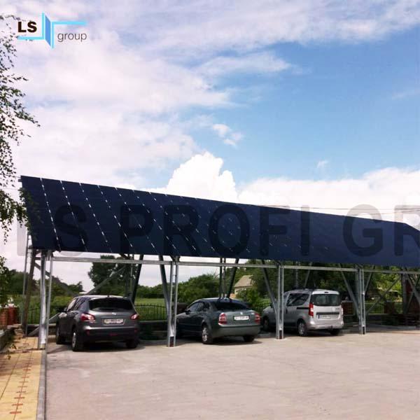 Наземные конструкции для солнечных панелей, Украина