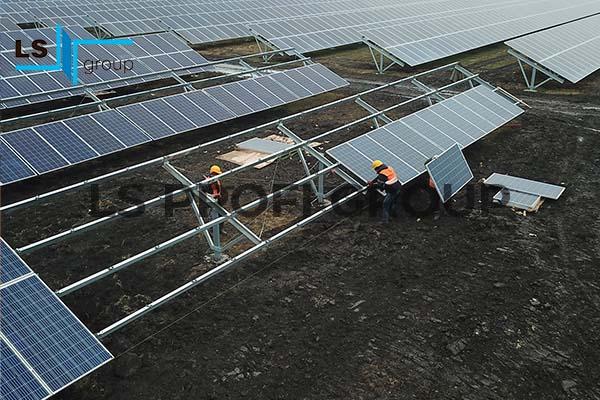 Направляющий профиль для солнечных панелей, Украина