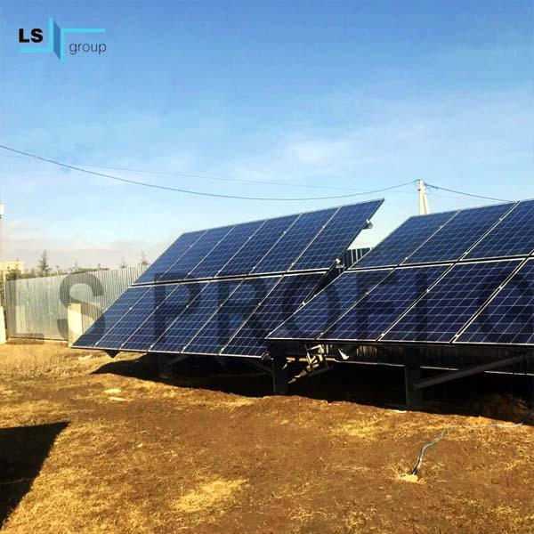 Стол для солнечных панелей, Украина